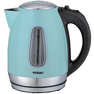 NEW 1.7L Cordless Retro-Style Kettle with LED Light - Todo,Small Appliances