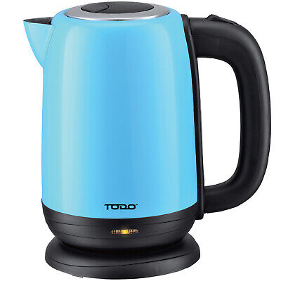 NEW 1.7L Cordless Retro-Style Stainless Steel Kettle - Todo,Small Appliances