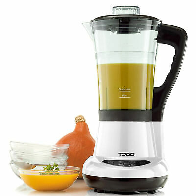 NEW 1.7L Egg Cooker & Heated Blender Soup Maker - Todo,Small Appliances