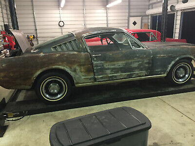 1966 Ford Mustang  1966 Ford Mustang Fastback 289 4 Speed