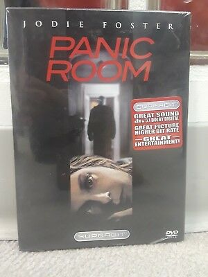 Panic Room NEW SEALED DVD+WIDESCREEN!  JODIE FOSTER! FREE SHIPPING!