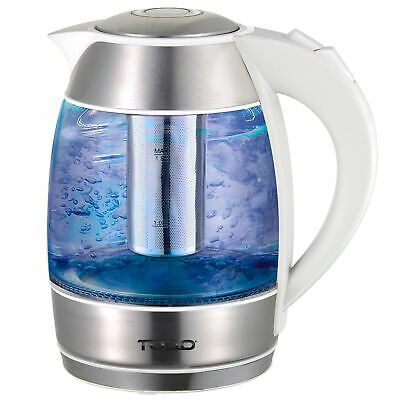 NEW 1.8L Cordless Removable Tea Infuser Glass Kettle - Todo,Small Appliances