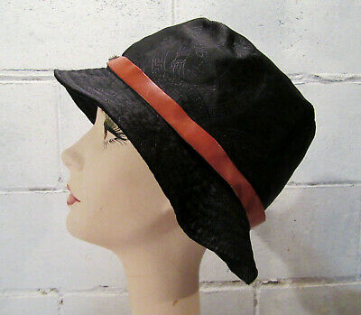 e448674cbb501 GIANNI VERSACE BLACK Bucket Hat Made in Italy Size M -  51.00