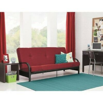 Awe Inspiring Full Size Futon With Mattress Frame Bed Couch Dorm Furniture Andrewgaddart Wooden Chair Designs For Living Room Andrewgaddartcom