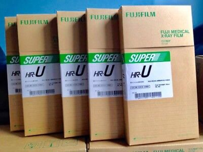 Fuji Green Panoramic Extraoral Dental X Ray Film - 15 X 30Cm - 5 Boxes 100 Films