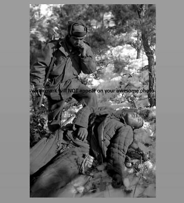 1582e7c54 Korean War Communist Casualty PHOTO Chinese Soldier, US Army 5th RCT Han  River