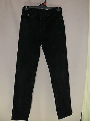 """1980's Vintage High Waisted """"Levi"""" Jeans with Tapered Legs."""