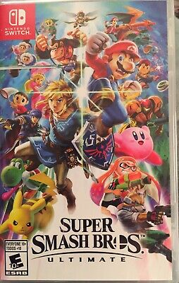 Super Smash Bros. Ultimate Nintendo Switch Brand New, Sealed. Next day Shipping