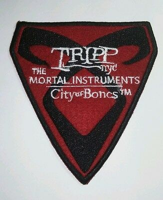 Tripp The Mortal Instruments Shadowhunters City Of Bones Nyc Crest Sew On Patch