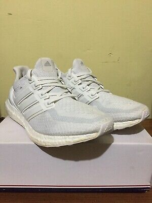 45b4372e1304b Adidas Ultra Boost UltraBoost 2.0 Triple White (AQ5929) Size 11 Hype Boost