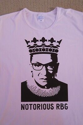 f4907ce44678 NOTORIOUS RBG RUTH Bader Ginsburg Supreme Court Justice T Shirt M ...
