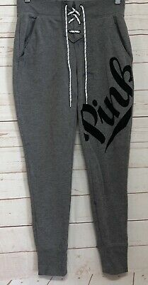 0492d314eaade VICTORIA'S SECRET PINK Joggers & Tee Shirt Bling Set Sweatpants NWT ...