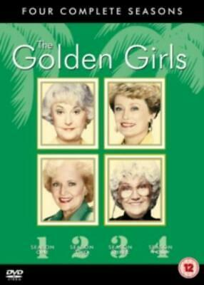 Golden Girls: Seasons 1-4 =Region 2 DVD,sealed=