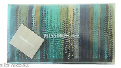 MISSONI HOME ASCIUGAMANO BAGNO BATH TOWEL BRANDED PACKAGING PHOEBE 150 70x115 cm