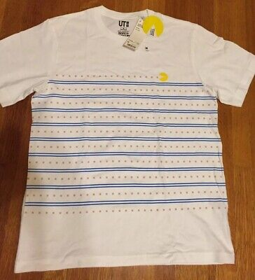 c75dbca9f New Uniqlo Unisex The Game By Namco Museum PAC-MAN Graphic T-Shirt Size