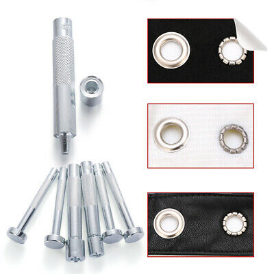 Eyelet Punch Die Tool Hole Cutter Set Die Base Leather Craft Working Tool Hot!
