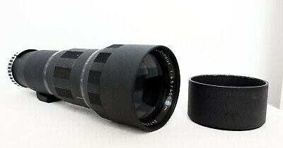 Vintage ENNA MUNCHEN 400mm 4.5 Tele-Ennalyt Telephoto Lens for M42 fit