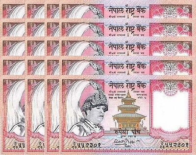 15 NEPAL 20 Rupees P-47a 2002 UNC SIGN US-Seller