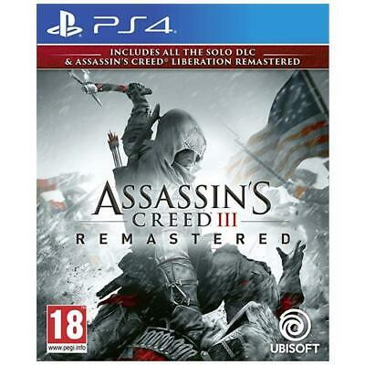 UBISOFT PS4 - Assassin's Creed III Remastered
