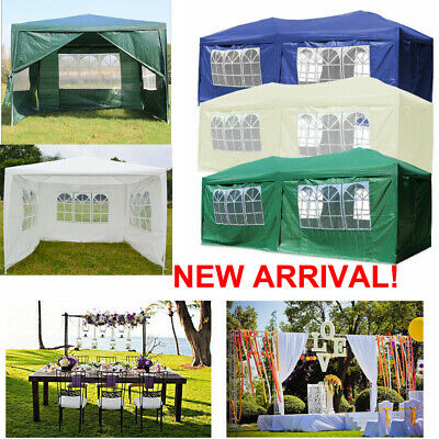 Gazebo Marquee Waterproof Outdoor Canopy Party Tent Garden Tent With side New