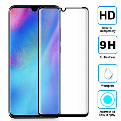 Full Cover Tempered Glass Film Protector for Huawei P30 Lite/P Smart Y7 Y9 2019
