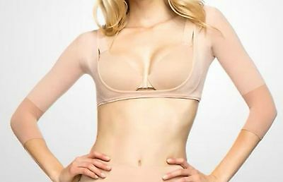 Spanx Arm-Believable Arm Shapers Nwt Size 1X Nude Qvc