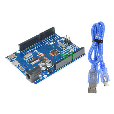 ATMEGA328P-16AU Latest Version CH340G For Arduino UNO R3 With Micro USB Cable