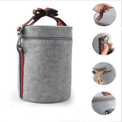 Portable Thermal Bag Cool Cooler Bag School Picnic Storage Tote Lunch Box Supply