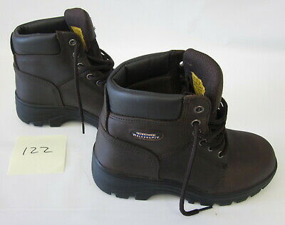 650d7a6bc9a0 SKECHERS FOR WORK Women's Workshire Peril Steel Toe Boot - $83.70 ...