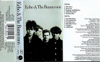 Echo & The Bunnymen self-titled cassette Sire 25597-4 rel. 1987