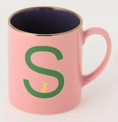 PAUL SMITH Initial Motif Mug S Rabbit Made in Japan Exclusive Limited Gift F//S