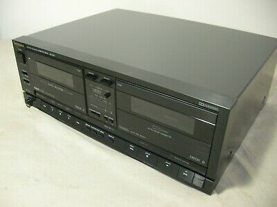 Technics Rs-X911 Dual Cassette Deck Excl All Works Well Japan - Tape Double Twin