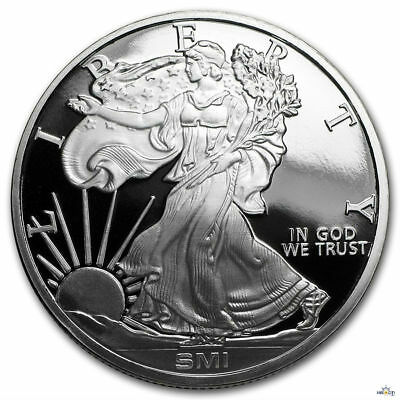 Sunshine Mint 1oz Walking Liberty SMI .999 Fine Silver Round