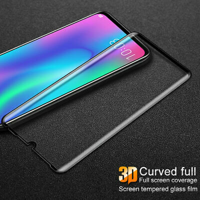 Fits For Huawei P30 Pro Lite 3D Tempered Glass Screen Protector Full Glass Cover