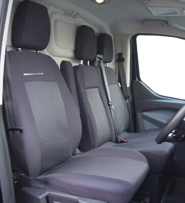 Fully tailored Van seat covers for FORD TRANSIT CHASSIS CAB 2013 - on  2+1 (P3)