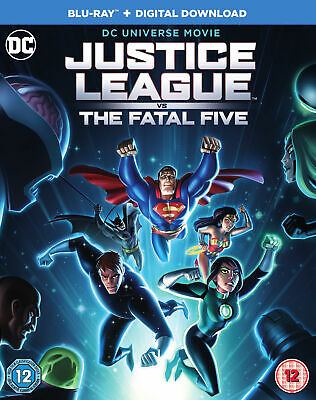 Justice League vs. The Fatal Five (Blu-ray) Elyes Gabel, Diane Guerrero