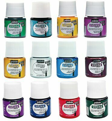 Pebeo Vitrea 160 Glossy Outliner Glass Metal Painting 45 ml