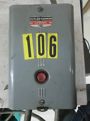 Cutler Hammer Bulletin 9586 AC Automatic Starter W/Thermal Overload Protection