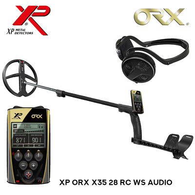 XP ORX X35 28 RC WS Audio Metalldetektor