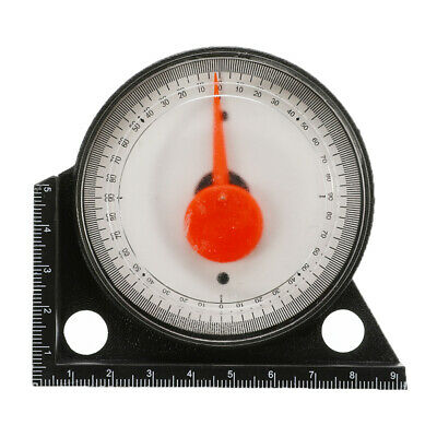 Mini Slope Inclinometer Protractor Tilt Level Meter Angle Finder Clinometer New
