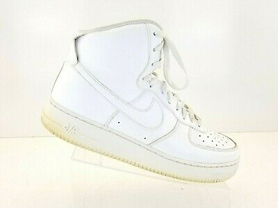 3d2170b0cef NIKE AIR FORCE 1 HIGH MENS LIFESTYLE SHOE (WHITE) 315121-115 Size 12 ...