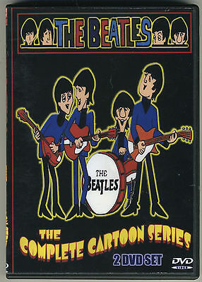 The Beatles - The Complete Cartoon Series 1965-67 -  39 Episodes On Two DVD's!!!