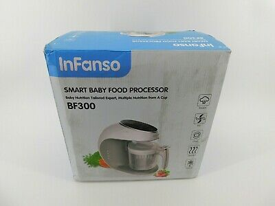 Infanso Baby Food Maker 7-in-1 Food Processor BF300 For Infants & Toddlers J25