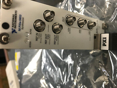 National Instruments NI PXIE 5653 Synthesizer Pxie-5653 TESTED