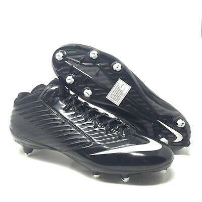 b3df94f50224 Mens NIKE Vapor Speed 3/4 TD Screw-On Football Cleats 645729 010 Size