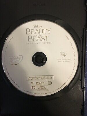 Beauty and the Beast: The Enchanted Christmas (DVD-DISC ONLY) No Artwork