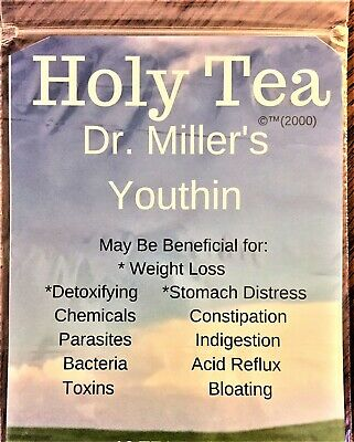 Dr Millers YouTHIN™ Holy Tea - One Year Supply (96 bags) HUGE SALE! FREE S/H WOW
