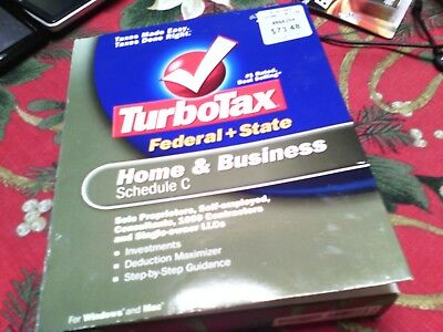 2006 Intuit TurboTax Home & Business, Federal & State Schedule C