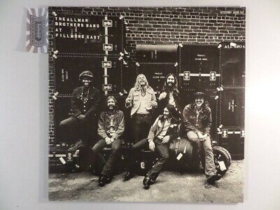 The Allman Brothers Band At Fillmore East [Vinyl, Doppel-LP, 2639 102]. Allman B