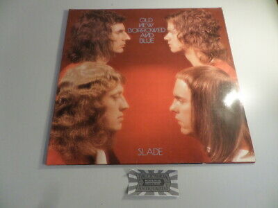 Old New Borrowed and Blue  [Vinyl, LP, 2383 261]. Slade: